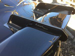 KUHL × R35 GT-R 実はここにもコダワリが詰まっている!ウィング編 ~ KUHL R35 GT-R エアロ ウィング !!