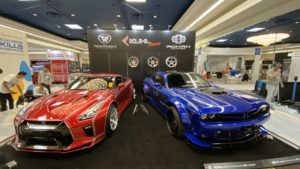 KUHL×SEMA SHOW in Las Vegas #KUHL #ROHAN #LUXZ #R35 GT-R #DODGE Challenger