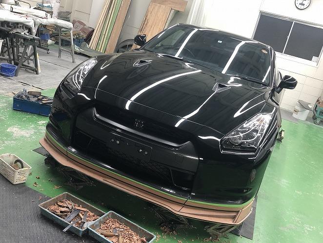 【開発情報】R35 GT-R 08モデル用最新作エアロ、開発順調です!