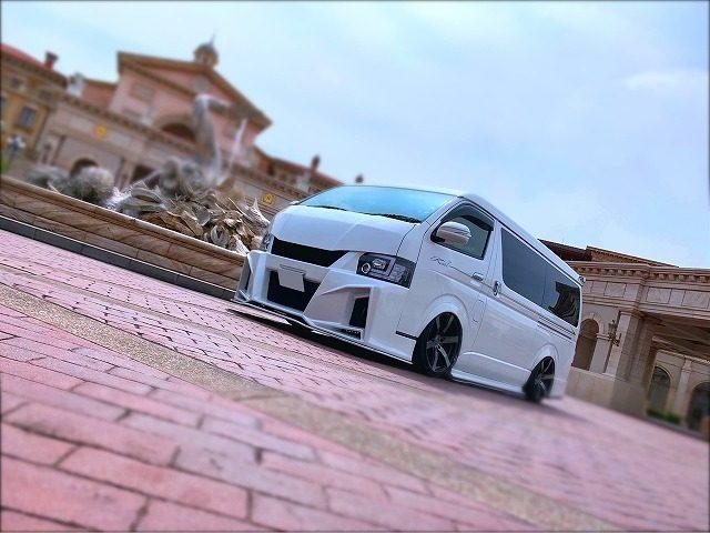KUHL栃木 久々の愛車紹介 ハイエース KITZ-RACING 200W-GT