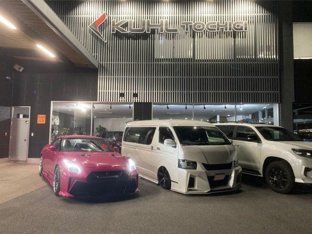 【祝☆ご納車】KUHL×ROHAN R35 GT-R  Magentakandy!!! tuned by 35R-GTⅡ ~KUHLRACING栃木 北海道納車の旅 part2 ROHAN VERZ WHEELS KCV02 オールペン キャンディー ピンク~