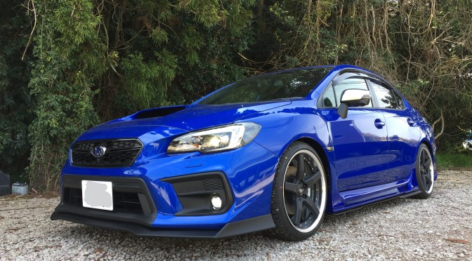 KUHL RACING名古屋 島根県に納車!!WRX(^^♪
