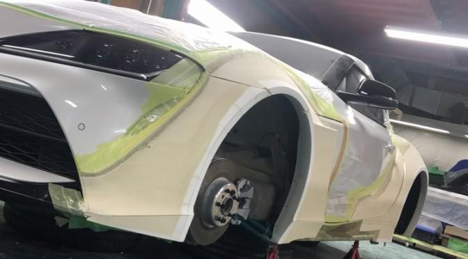 KUHLRACING名古屋 スープラエアロ開発状況 オーバーフェンダー 4本出し 鍛造2ピース ワイドボディー VERZ 2020東京オートサロン 間に合うのか!!!