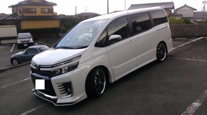 80VOXY シルクブレイズコンプリート! 三重県納車 クールプレミアム名古屋(^_-)-☆