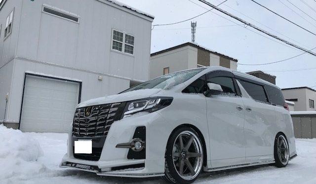 30アルファードKUHLコンプリート 北海道納車!(^^)!
