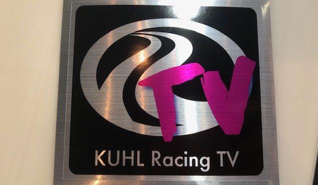 KUHL Racing TV オリジナルステッカー