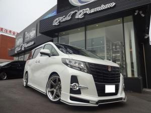 KUHL PREMIUM新車コンプリート!30アルファードS-Cパッケージ!店頭納車でした!!!