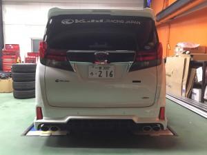 新型 30アルファード KUHLエアロ コンプリート 新車 納車
