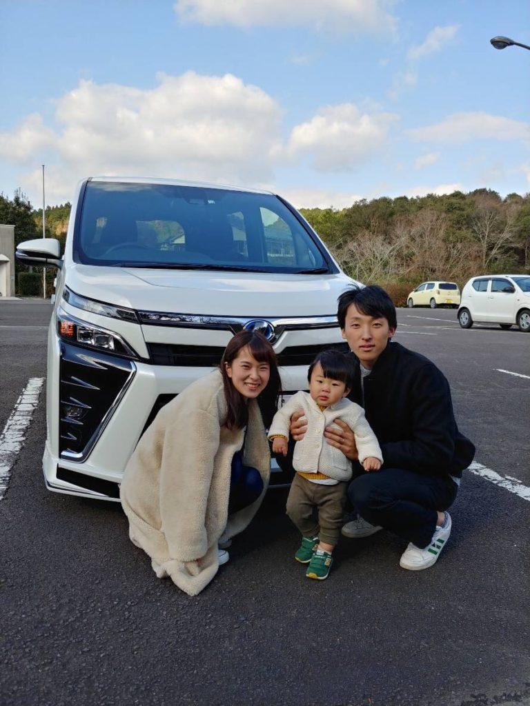 T様 12/19 VOXYご納車☆彡 VOXY ノア アルファード ヴェルファイア ミニバン SUV  KUHL カスタム